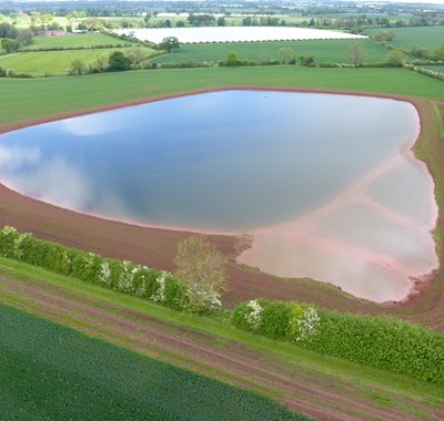 Reservoir in Staffordshire