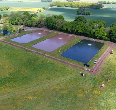 Rearing Pool in Shropshire